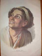 A Beggar Boy from Bartolomé Esteban Murillo 1877 print