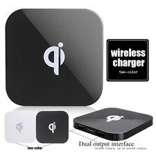 5W Induktive Ladegerät Wireless Qi Charger Kabellos + 2 x USB für Samsung iPhone