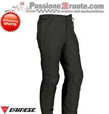 Pantaloni Dainese New Galvestone goretex nero black moto trouser pant pantalone