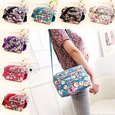 Women Canvas Floral Messenger Cross Body Handbag Shoulder Bag Tote Purse Hot