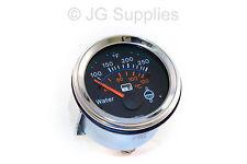 Smart water temperature gauge - 12v - Chrome bezel - 52mm - LED warning -40-120c