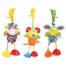 Kid Mobile Crib Music Toy Baby Crib Cot Pram Ringing Bed Bell Spiral Rattles 6A