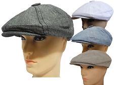 New plein 100% cotton Golf  Ivy 8 panel  applejack newsboy hat cap snap brim