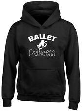 Ballet Princess Girls Kids Childrens Hooded Top Hoodie