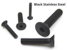 Negro A2 Acero Inoxidable Enchufe avellanado tornillos llave allen pernos