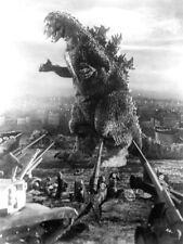 Godzilla 1954 Retro Movie Vintage BW Giant Wall Print POSTER