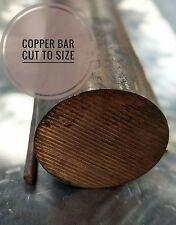 Copper Round Bar - Rod 1/8, 3/16, 1.3/4, 4mm, 6mm, 8mm
