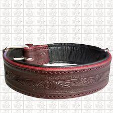 Premium Hundehalsband Vollleder WOZA Lederhalsband Rindleder Nappa ОШЕЙНИК P8682