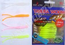 rock fish hunter micro artificiali in gomma pesca light spinning mare trota lago