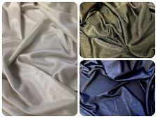 Shiny Sparkle Foil on Stretch Lightweight Soft Polyester Spandex Fabric