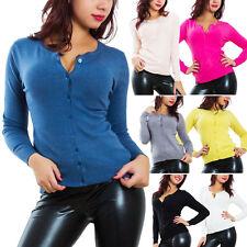 Cardigan donna maglioncino pullover maglione bottoni maniche lunghe sexy Y921A
