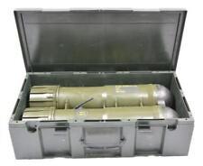 Große Transportbox mit Griff und seitlichen Klamme Cal. 84 Ammo Tube  Luftdicht