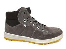 Ricosta Jungen Schuhe Warmfutter Stiefel Boots Bajo grau meteor Tex Leder