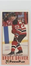 1993-94 Fleer Power Play #135 Bruce Driver New Jersey Devils Hockey Card