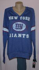 New York Giants Womens O.T. Queen Sweatshirt Plus Size Blue - NFL Plus Sizes