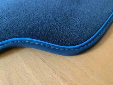 Fußmatten für Audi Q3 S RS in Luxus-Velours anthrazit  Nubukband Sonderfarben