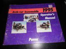 Arctic Cat 1995 Puma Operators Manual 45pgs