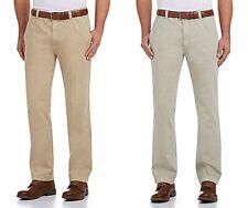 Cremieux Mens New $80 Tribeca Flat Front Twill Pants 38 38x30 38w Khaki Grey NWT