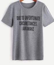 Slogan Print Tees Women T-Shirts