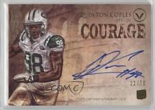2012 Topps Valor Autograph Rookie Courage #VA-QC Quinton Coples Auto Card