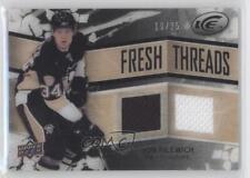 2008 Upper Deck Ice Fresh Threads PETG Black FT-JF Jonathan Filewich Hockey Card
