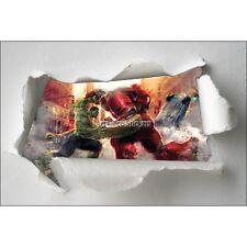 Adesivi bambino carta effetto strappato Avengers ref 7661