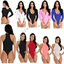 Women's Lingerie One Piece High Cut Crotchless Thong Leotard Bodysuit Sleepwear