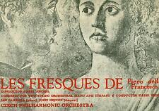 """MARTINU LES FRESQUES DE PIERO DELLA FRANCESCA ANCERL PANENKA SEJNA 12"""" LP L6971"""