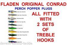 CONRAD TOP PERCH POPPER PLUG SEA GAME COARSE FISHING SPINNING ROD LURE BASS PIKE