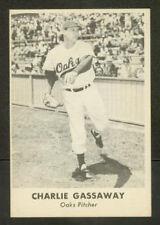 1950 REMAR Oakland OAKS PCL Baseball Card - Gassaway