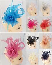 Elegant Headband and clip Fascinator Ladies Day Race Ascot Prom Wedding UK