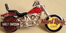 Hard Rock Cafe SINGAPORE 1990s Harley-Davidson MOTORCYCLE PIN with HRC Logo