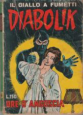 DIABOLIK_ORIGINALE_ORE D'ANGOSCIA_ II SERIE _ N° 6_ 15 MARZO 1965_ ASTORINA