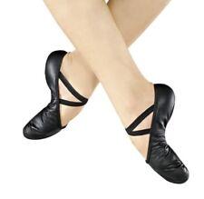 So Danca Just Dance Black Ballet Shoe Professional Leather Split Sole