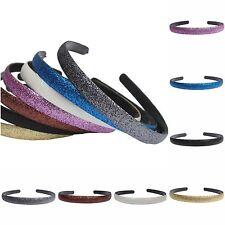 Glitzer Haarreif in 7 verschiedenen Farben Haarschmuck Haarspange Haarreifen