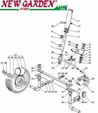 Vista desarrollada dirección tractor podadora EL63 PE60VD CASTELGARDEN recambio