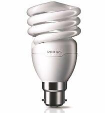 Philips Tornado 24W CFL GLOBE BAYONET Spiral Bulb T2 COOL DAYLIGHT or WARM WHITE