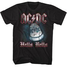 ACDC HELLS BELLS BLACK ADULT Short Sleeve T-Shirt