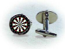 Dart Board Cufflinks - Game Cufflinks