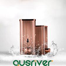 400ml Stainless Steel Soap Shampoo Dispenser Hand Sanitizer Bathroom Retro Style