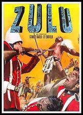 Zulu 5  British Movie Posters Classic & Vintage  Films