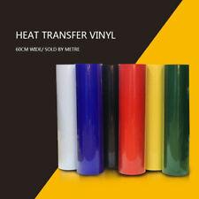 T-shirt Heat Press Transfer Vinyl PVC HTV Film Iron-on Sign Making DIY By Metre