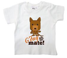 """Gracioso Camiseta para bebé"""" G ' Día Mate """"CANGURO AUSTRALIA Ropa Bebé"""