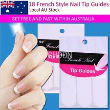 1 Sheet 18 Styles Nail Decoration Nail Art Tips Nails Art Guides Stickers DIY