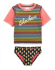 Skechers niña multicolor Manga Corta Neopreno Natación Talla 2t 3 años 4t 4