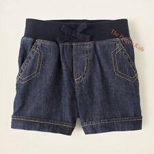 NWT The Children's Place TCP Girls Dark Denim Shorts 5 6 6x/7 8 10 12