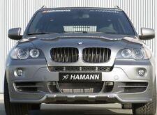 BMW E70 X5 2007-10 Genuine Hamann Brand Front Apron Spoiler For Standard Bumper