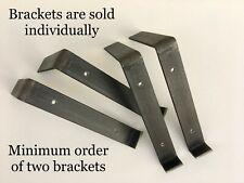 Decorative Metal Shelf Brackets - Handmade in the USA