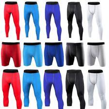 Mens Under Base Layer Skins Compression Shorts Pants Gym Wear Running Tights