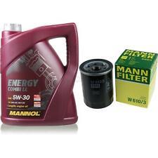 Ölwechsel Set 5L MANNOL Energy Combi LL 5W-30 + MANN Ölfilter Service 10148814